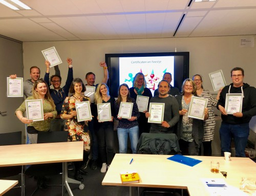 Ict'ers in Haarlem ronden opleiding succesvol af!