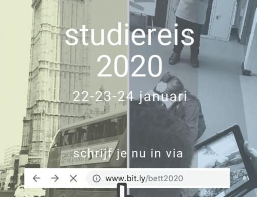 Inschrijving studiereis Londen 2020 geopend
